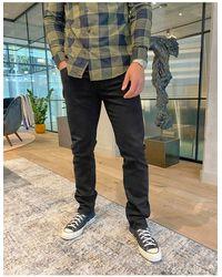 J.Crew 484 Black Stretch Non-selvedge Slim Jeans