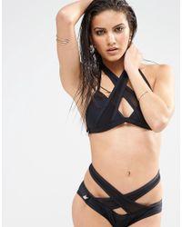 Quontum - Padded Wrap Bikini Top - Lyst
