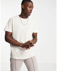 Tom Tailor - – T-Shirt aus Leinengemisch - Lyst