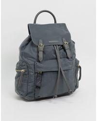 Valentino - – Registan – Rucksack aus Nylon - Lyst
