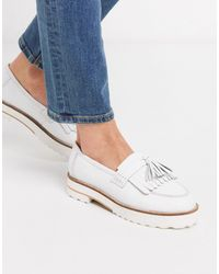 Wide Fit Deck Flat Moccasin Driving Boat Shoes V-DOTE Ladies Loafers