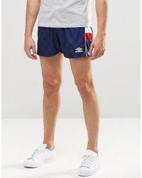 Umbro Retro Shorts - Blue