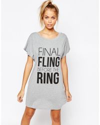 Adolescent Clothing - Fling Before Ring Nightee - Lyst