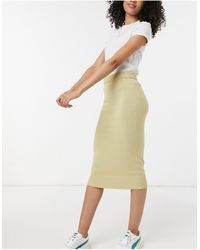 Y.A.S - . Knitted Co-ord Midi Skirt - Lyst