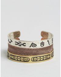 ASOS - Embellished Bangle Pack In Burnished Finish - Lyst