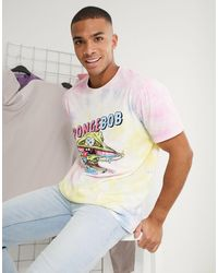 Bershka Spongebob T-shirt - Pink