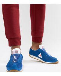 174df62718 Le Coq Sportif Quartz Sneakers In Khaki Exclusive To Asos in Green ...