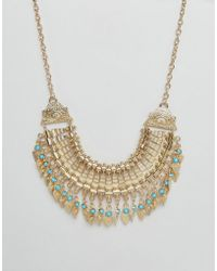 Ruby Rocks - Statement Festival Necklace - Lyst