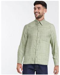 Weekday - Gordon - Camicia verde a quadri - Lyst