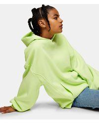 TOPSHOP Considered - Hoodie à œillets - Vert