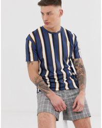 Jack & Jones - Stripe T-shirt - Lyst