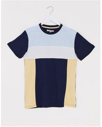Bellfield Cut And Sew T-shirt - Blue