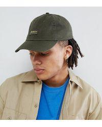 126577672c4 Calvin Klein Mens Reissue Cap Khaki in Natural for Men - Lyst