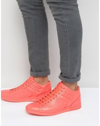 BOSS Green - By Boss Greeen Ray Hi Top Trainers - Lyst