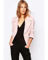 Closet Closet Zip Detail Jacket - Pink