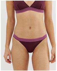 Y.A.S Kauai Breif Bikini Bottoms - Purple