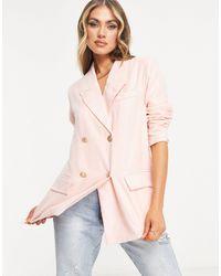 UNIQUE21 Oversized Blazer - Pink