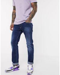 DIESEL Safado-x - Jeans Met Rechte Pasvorm En Dark Wash - Blauw