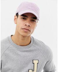 Hollister - Twill Cap In Purple Wash - Lyst