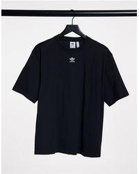 adidas Originals - Черная Футболка Essential-черный - Lyst