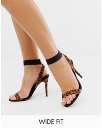 New Look Heeled Sandals - Black