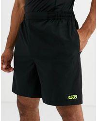 ASOS 4505 Trainingshort Met Quick-dry - Zwart