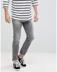 Calvin Klein - Slim Grey Jeans - Lyst