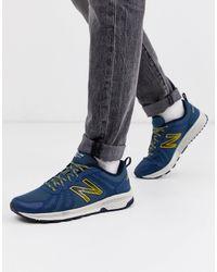 New Balance 590 trail - Sneakers da corsa blu navy