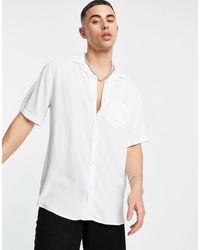 Only & Sons Revere Collar Shirt - White