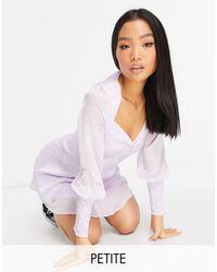Vero Moda - Mini Tea Dress - Lyst