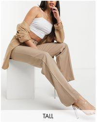 Missguided Tailored Straight Leg Trouser - Multicolour