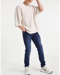 Armani Exchange J14 Skinny Fit Jeans - Blue