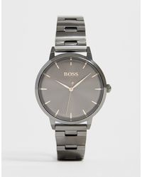 BOSS 1502503 Marina Bracelet Watch - Gray