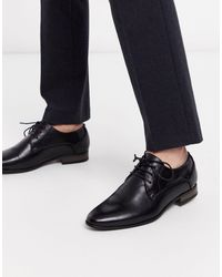 New Look Faux Leather Formal Derby - Black