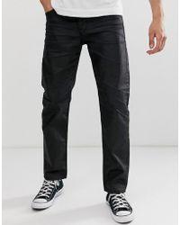 Jack & Jones Jack And Jones Regular Coated Denim Jeans - Blue