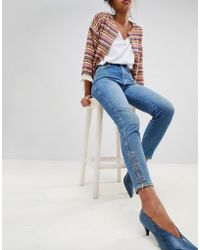 Pepe Jeans - Gladis Zip Ankle Skinny Jeans - Lyst