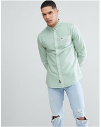 Jack Wills – Atley – es Oxford-Hemd - Grün