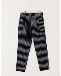 ASOS Cigarette Pants - Black