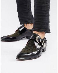 Jeffery West Adamant - Chaussures derby à paillettes - Métallisé