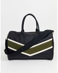 ASOS Faux Leather Carryall - Black