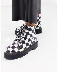 YRU Y-r-u - Vegan Leather Boots - Black
