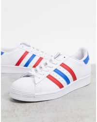 adidas Originals Americana Edition Superstar Sneakers - White