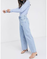 Weekday Ace Organic Cotton Air Blue