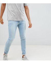 Noak Skinny Jeans In Light Blue Wash