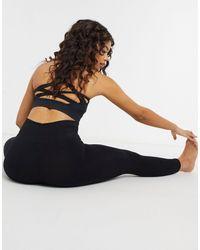 Onzie Warrior High Support Yoga Sports Bra - Black