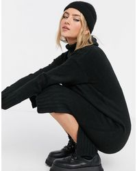 New Look Robe à col roulé - Noir