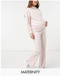 Lindex Pantalones premamá rosas