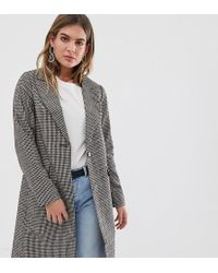 46707c7fdc4c New Look Tailored Coat in Green - Lyst