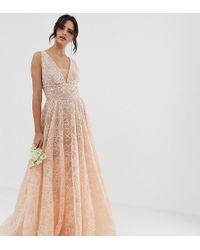 Bronx and Banco Emily - Vestito da sposa decorato - Rosa