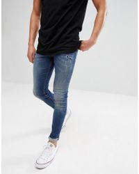 Just Junkies Max Slim Fit Jeans - Blue